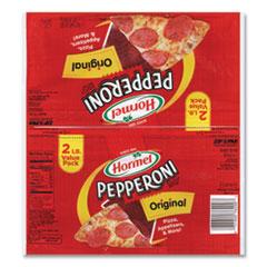 Hormel® Pepperoni Slices, 16 oz Bag, 2/Pack, Delivered in 1-4 Business Days