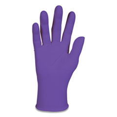 Kimtech™ PURPLE NITRILE Exam Gloves, 242 mm Length, Large, Purple, 100/Box