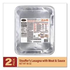 Stouffer's® Lasagna with Meat and Sauce, 96 oz Tray, 2/Pack, Delivered in 1-4 Business Days