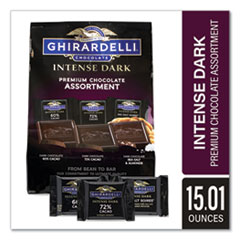 Ghirardelli® Intense Dark Chocolate Premium Collection, 15.01 oz Bag, Free Delivery in 1-4 Business Days