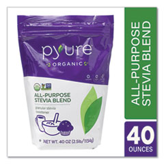 Pyure® Organic Stevia All-Purpose Granular Sweetener Blend, 40 oz Bag, Free Delivery in 1-4 Business Days