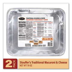 Stouffer's® Traditional Baked Macaroni and Cheese, 76 oz Tray, 2/Pack, Delivered in 1-4 Business Days
