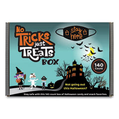 Snack Box Pros No Tricks Just Treats Halloween Box, Assorted Varieties, 6 lb Box, Free Delivery in 1-4 Business Days