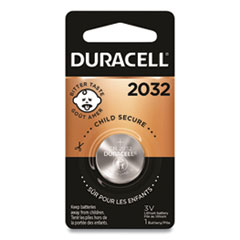 Duracell® Lithium Coin Battery, 2032, 6/Box