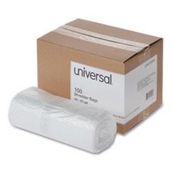 Universal® High-Density Shredder Bags, 40-45 gal Capacity, 100/Box