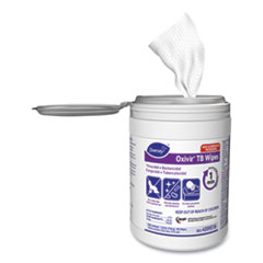 Diversey™ Oxivir TB Disinfectant Wipes, 6 x 7, White, 160/Canister, 12 Canisters/Carton