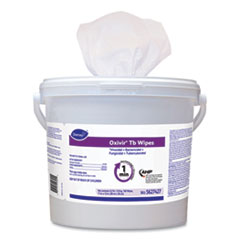 Diversey™ Oxivir TB Disinfectant Wipes, 11 x 12, White, 160/Bucket, 4 Bucket/Carton