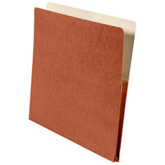 NSN2852915 - Accordion-Style File Jacket with 7/8 Inch Expansion, Letter, Red, GSA 7530002852915