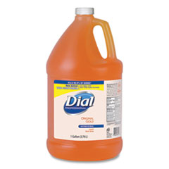 Dial® Professional Gold Antimicrobial Liquid Hand Soap, Floral Fragrance, 1 gal Bottle