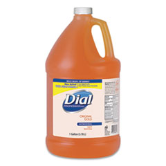 Dial® Professional Gold Antimicrobial Liquid Hand Soap, Floral Fragrance, 1 gal Bottle, 4/Carton