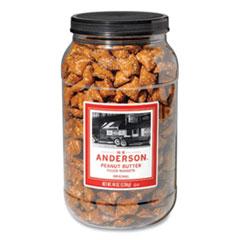 HK Anderson™ Peanut Butter Filled Pretzel Nuggets, 44 oz Canister