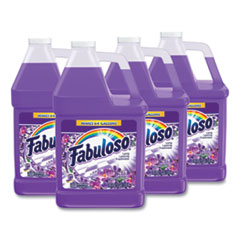 Fabuloso® Multi-use Cleaner, Lavender Scent, 1 gal Bottle, 4/Carton