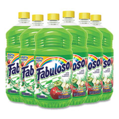 Fabuloso® Multi-use Cleaner, Passion Fruit Scent, 56 oz, Bottle, 6/Carton