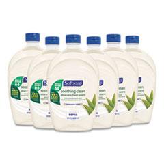 Softsoap® Moisturizing Hand Soap Refill with Aloe, Fresh, 50 oz, 6/Carton