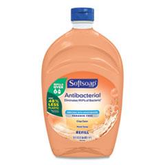 Softsoap® Antibacterial Liquid Hand Soap Refills, Fresh, Orange, 50 oz