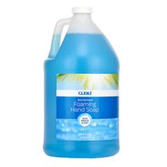 Alpine CLENZ Antibacterial Foaming Hand Soap, Blue Breeze Scent, 1 gal Bottle