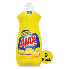 Dish Detergent, Lemon Scent, 28 oz Bottle, 9/Carton