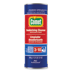 Comet® Cleanser with Chlorinol, Powder, 21 oz Canister, 24/Carton