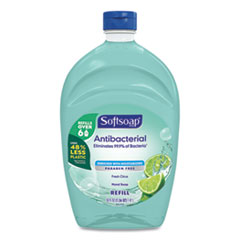 Softsoap® Antibacterial Liquid Hand Soap Refills, Fresh, Green, 50 oz