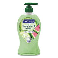 Softsoap® Liquid Hand Soap Pumps Crisp Cucumber and Melon, 11.25 oz Pump Bottle