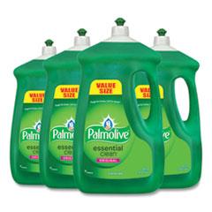 Palmolive® Dishwashing Liquid, Original Scent, Green, 90 oz Bottle, 4/Carton