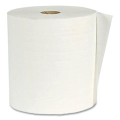 "American Paper Converting Hardwound Paper Towel Roll, Virgin Paper, 1-Ply, 7.88"" x 800 ft, White, 6/Carton"