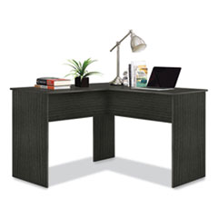 "Easy 2 Go Corner Computer Desk, 47.83"" x 47.83"" x 30.39"", Dark Gray"