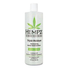 Hempz® Antibacterial Triple Moisture Gel Hand Sanitizer