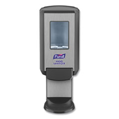 PURELL® CS4 Hand Sanitizer Dispenser, 1,200 mL, 4.88 x 8.19 x 11.38, Graphite