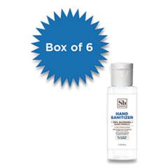 Soapbox 70% Alcohol Scented Gel Hand Sanitizer, 2 oz Flip Top Bottle, Citrus, 6/Box