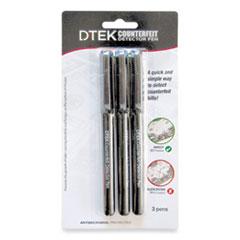 CONTROLTEK® DTEK Counterfeit Detector Pens