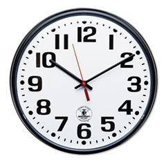 AbilityOne® SKILCRAFT® Atomic Slimline Wall Clock Thumbnail