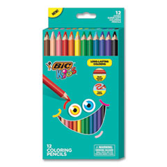 BIC® Kids® Jumbo Coloring Pencils
