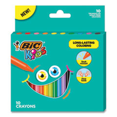 BIC® Kids® Coloring Triangle Crayons