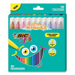 BIC® Kids® Ultra Washable Jumbo Markers