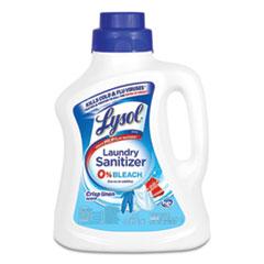 LYSOL® Brand Laundry Sanitizer, Liquid, Crisp Linen, 90 oz, 4/Carton