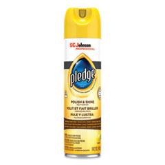 Pledge® Furniture Polish, Lemon, 14.2 oz Aerosol Spray