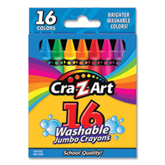 Cra-Z-Art® Washable Jumbo Crayons
