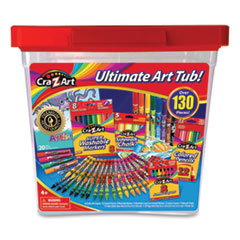 Cra-Z-Art® Ultimate Art Tub, 130 Pieces