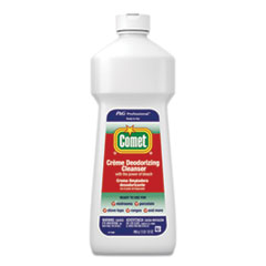 Comet® Creme Deodorizing Cleanser, 32 oz Bottle, 10/Carton