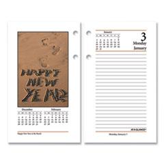 AT-A-GLANCE® Photographic Desk Calendar Refill, 3.5 x 6, 2022