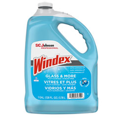 Windex® Glass Cleaner with Ammonia-D, 1gal Bottle, 4/Carton