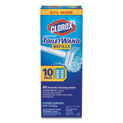 Clorox® Disinfecting ToiletWand Refill Heads, 10/Pack, 6 Packs/Carton