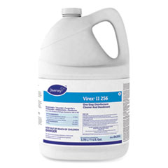 Diversey™ Virex II 256 One-Step Disinfectant Cleaner Deodorant Mint, 1 gal, 4 Bottles/CT