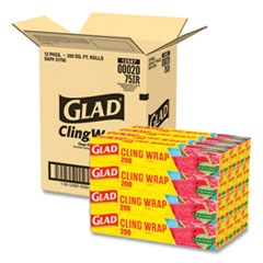 Glad® ClingWrap Plastic Wrap