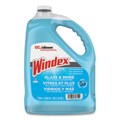 Windex® Glass Cleaner with Ammonia-D, 1 gal Bottle, 4/Carton
