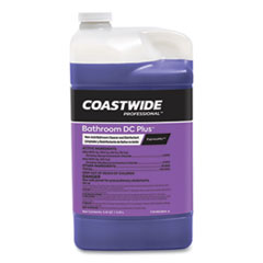 Coastwide Professional™ Bathroom DC Plus Cleaner and Disinfectant Concentrate for ExpressMix, Fresh Scent, 110 oz Bottle, 2/Carton