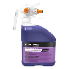 Coastwide Professional™ Bathroom DC Plus Cleaner and Disinfectant Concentrate for EasyConnect, Fresh Scent, 101 oz Bottle, 2/Carton