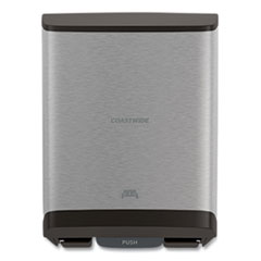 Coastwide Professional™ J-Series Auto-Cut Hardwound Paper Towel Dispenser, 12.32 x 9.34 x 16.67, Black/Metallic