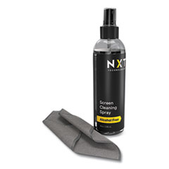 NXT Technologies™ Screen Cleaning Kit with 11 x 11 Cloth, 8 oz Spray Bottle